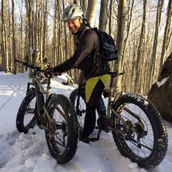noleggio_fat bike su neve nel monte amiata